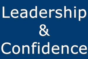 Leadership and Confidence title card