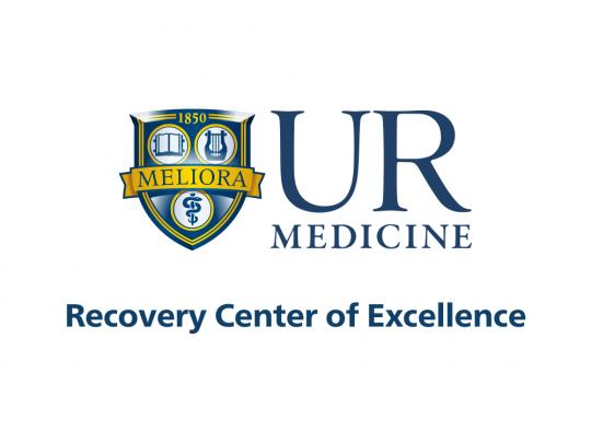 UR Medicine Recovery Center of Excellence logo